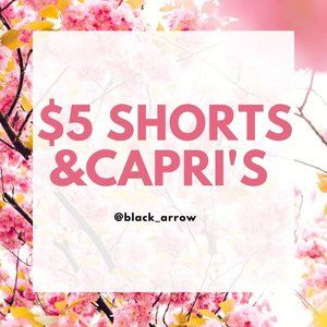 Shorts Capri's Career Work Casual Summer